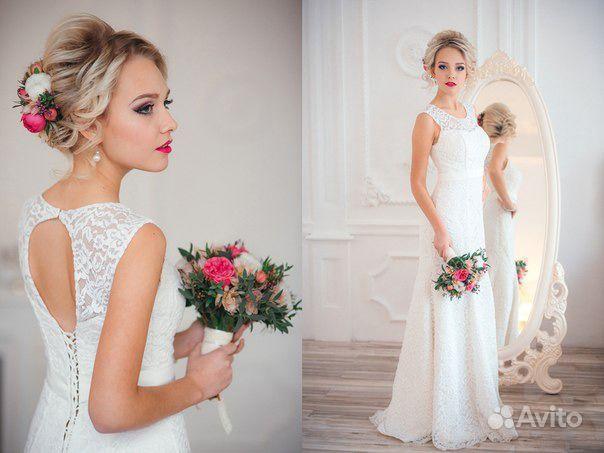 свадебное платье анастасии волочковы