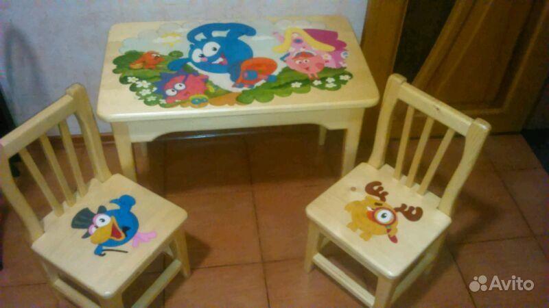 Детский стол и стулья. Республика Удмуртия, Сарапул