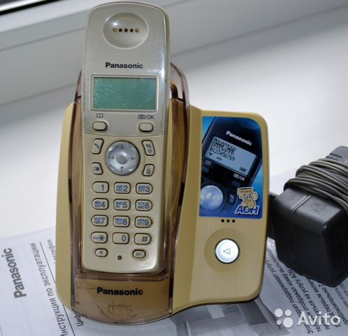 Радиотелефон Panasonic KX-