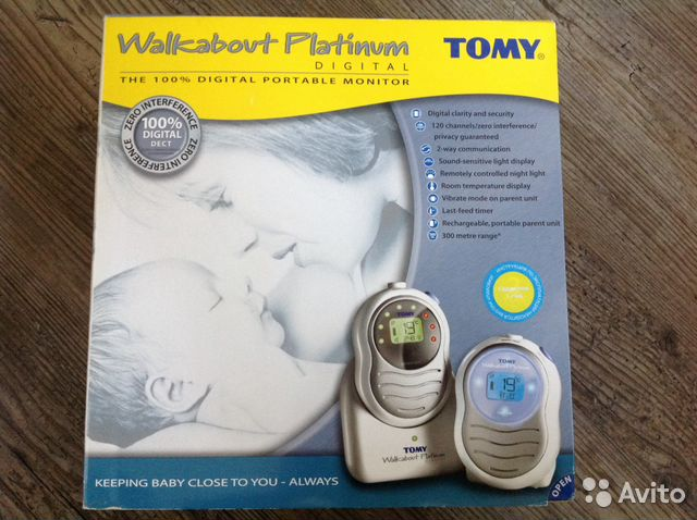 Радионяня tomy walkabout platinum digital