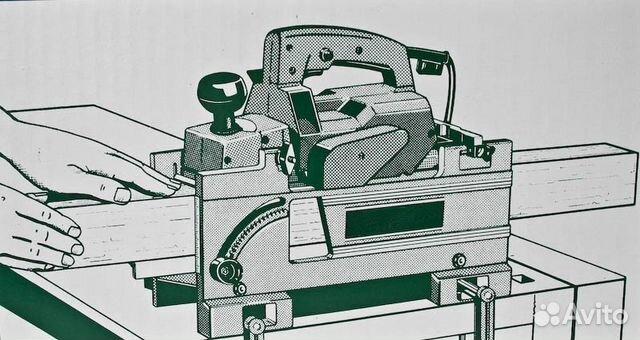 Станок фуговальный из электрорубанка своими руками чертежи
