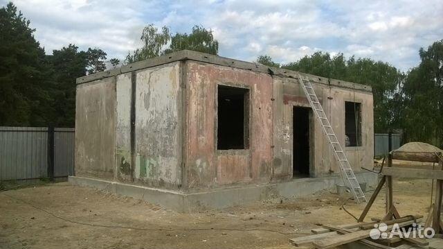 Дом из плит жби своими руками