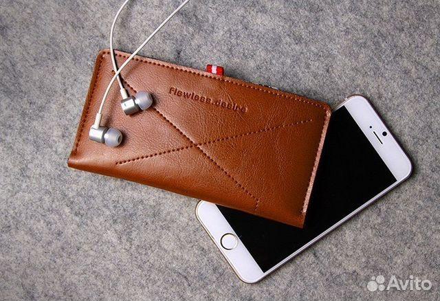 Кожаный чехол ручной работы iphone 6