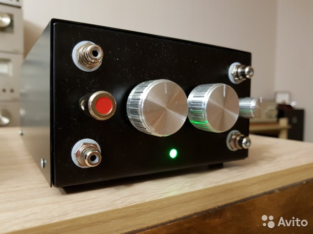 Фонокорректор ламповый для винилового проигрывателя