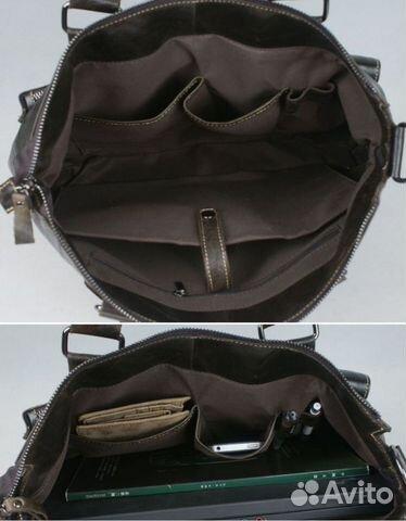 Повседневная сумка из состаренной кожи.  Подойдет для для ноутбука.  Размеры сумки 39см на 30 см.Гарантия натуральной...