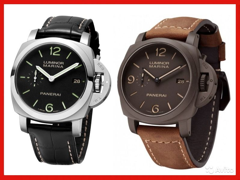 Часы luminor panerai инструкция