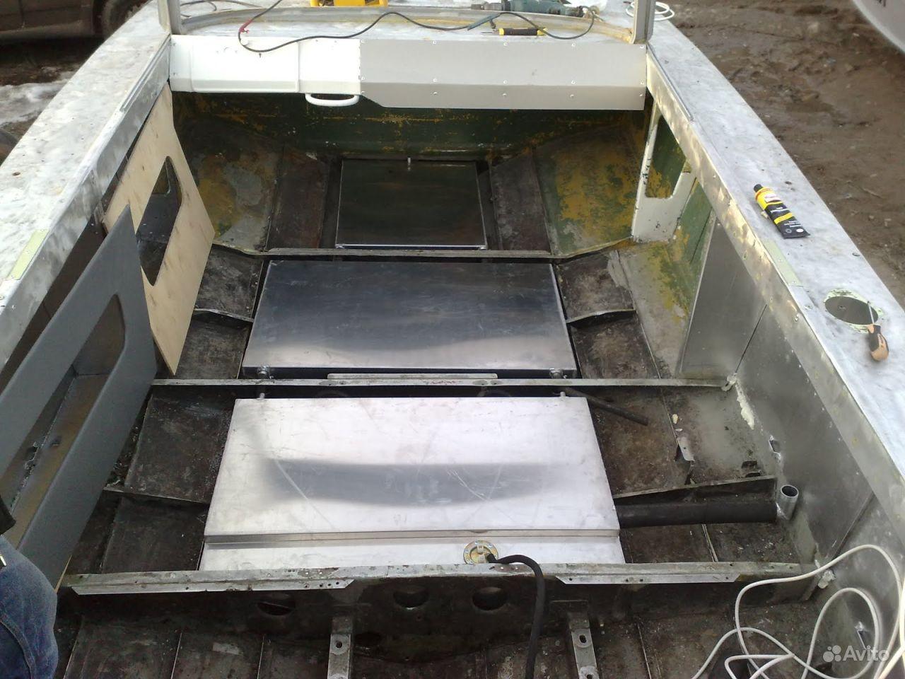 бак для лодки прогресс