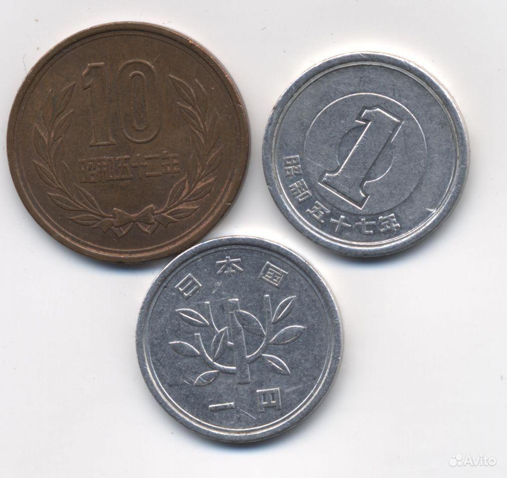 Продам монеты японская йена и 10 йен купить в Ханты-Мансийском АО ...