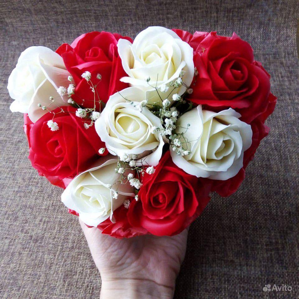 Мыльные цветы купить на Зозу.ру - фотография № 6