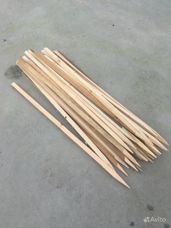 Колышки деревянные 20*25*1000 купить на Зозу.ру - фотография № 2
