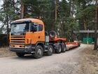 Тяжеловоз Scania 8x4