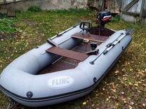 Лодка Flinc 320 с мотором и эхолотом
