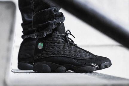 25ded818c0b8 Кроссовки Nike AIR jordan 13 Black Черные (41-45)