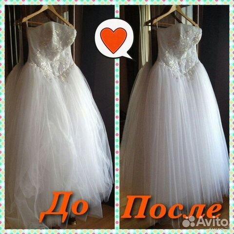 Отпарка свадебных платьев