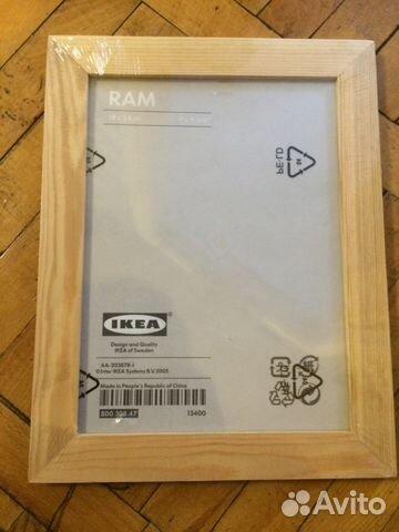 деревянная рамка из икеа новая в упаковке Festimaru мониторинг