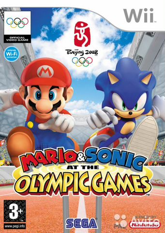 Mario Sonic AT The Olympic Games - к Nintendo WI— фотография №1