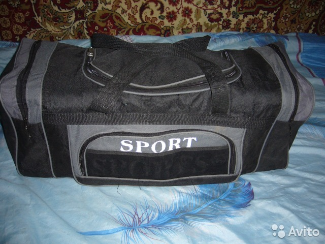 884e5f49328e Сумка Спорт большая туристическая купить в Москве на Avito ...