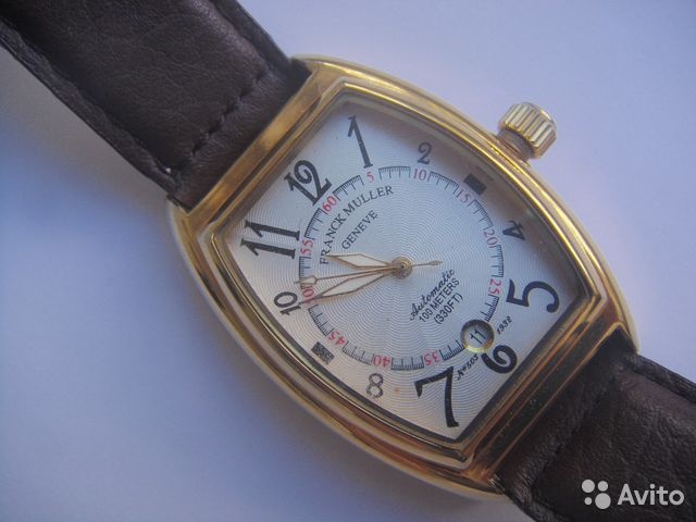 Franck Muller, оригинальные часы