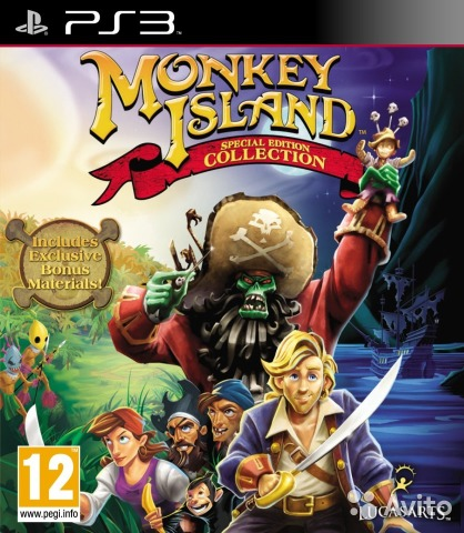 Monkey Island Special Edition Collection (PS3)— фотография №1
