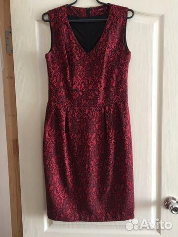 d12cdad5527 Красное платье Zarina 46 размер