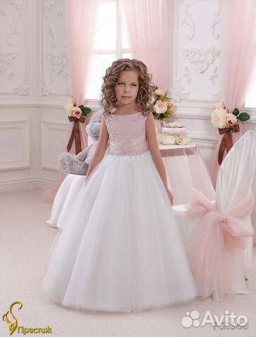Детские вечерние платья авито