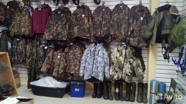 магазин охоты и рыбалки казань одежда