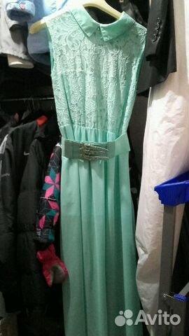 ffb016866ec Длинные впол красивые платья на нг купить в Пермском крае на Avito ...