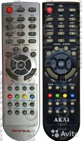 Пульт для телевизора supra stv-lc1504 akai 19n680 купить в Санкт GA710