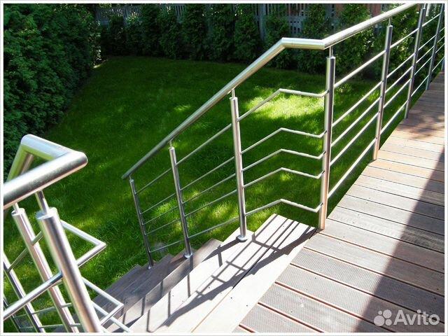 Услуги - нержавейка калинининград - перила балконы лестницы .