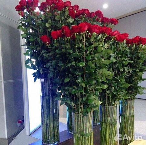 Купить длинные розы в москве с доставкой