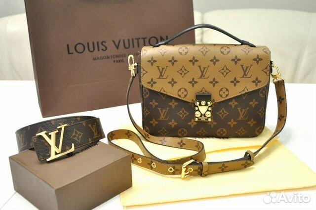 eb2aaaf4a021 Сумка Louis Vuitton Pochette Metis Reverse Луис   Festima.Ru ...