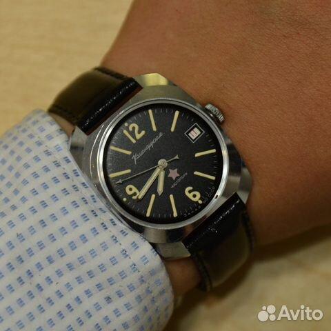 Командирские Чистополь наручные часы СССР в купить в Москве на Avito ... 081d01c38d7