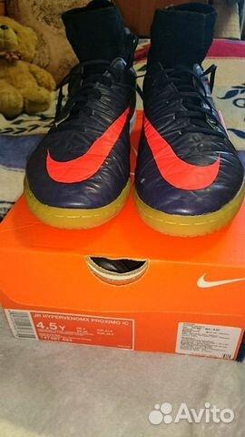 d6cda76d Футзалки Nike Hypervenomx proximo с носком 4,5 (ев— фотография №1