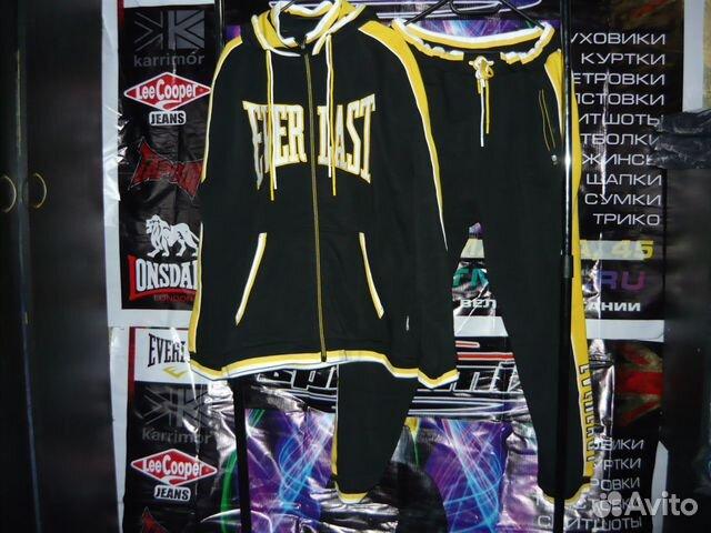 Утеплённый фирменный спортивный костюм Everlast   Festima.Ru ... c2ec62a0370