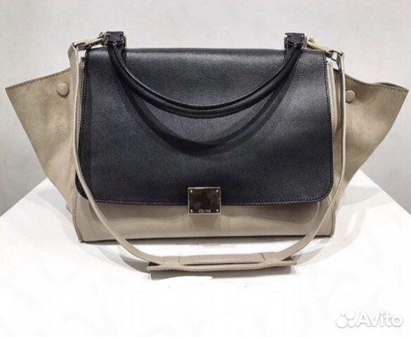 b4dcc2a53c4a сумка Celine Trapeze оригинал купить в москве на Avito объявления