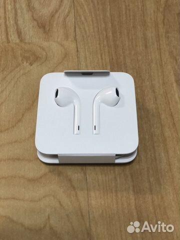гарнитура Earpods наушники Iphone 7 8 оригинал купить в
