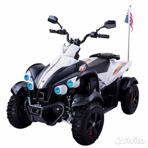 Электромобиль Квадроцикл Dooma White купить 2