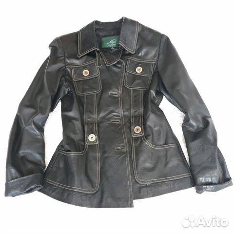 Продам женскую кожаную куртку купить в Костромской области на Avito ... ec64a8b3f9f