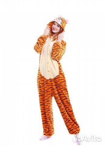 Кигуруми пижама тигруля  20dc60d11c98f