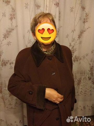 a5fa8d442ee Пальто коричневое