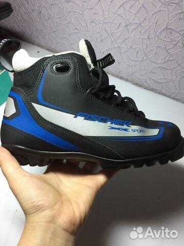 Лыжные ботинки fischer,размер 36-37 купить 5