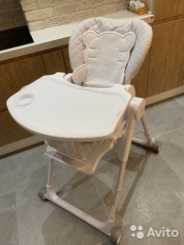стул для кормления Happy Baby William V2 Festimaru мониторинг