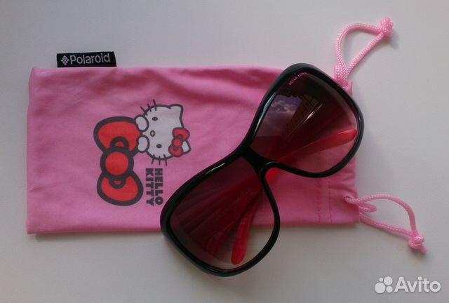 Очки солнцезащитные Hello Kitty Polaroid   Festima.Ru - Мониторинг ... 54abf97a317