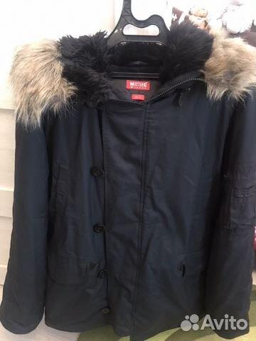 c827e72abde Мужская зимняя куртка mustang jeans купить в Санкт-Петербурге на ...