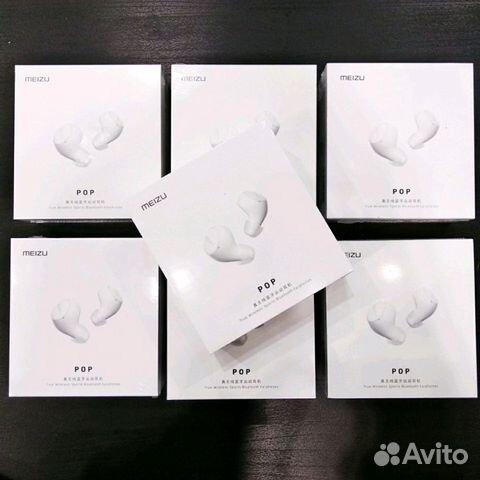 оригинальные беспроводные наушники Meizu Pop Tw50 купить в москве на