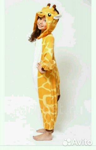 Подарок пижама кигуруми жираф  345d91de54d99