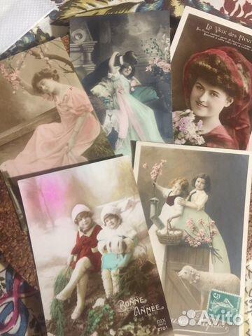 продать старинные открытки и фотографии большом количестве