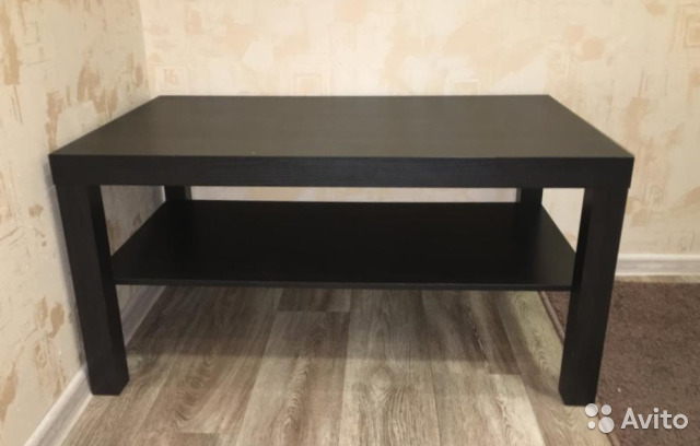 подставкатумбажурнальный столик Ikea Lakk купить в новосибирской