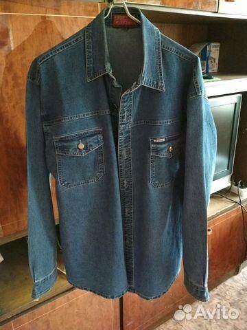 Джинсовая рубашка 89029228703 купить 2