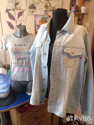Джинсовые куртки 46-48-52 89119528137 купить 9